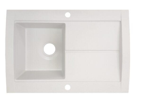 Bela granitna sudopera Gorenje KVE 76 10