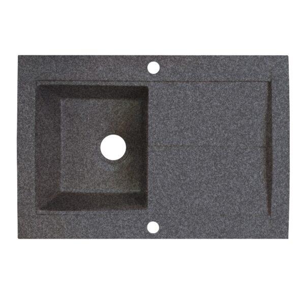 Granitna sudopera Gorenje KVE 76 10 granit crna