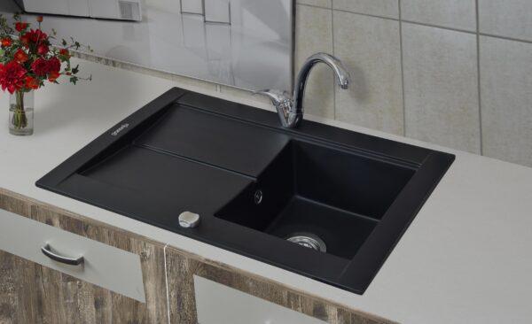 Granitna sudopera Gorenje karbon boja KVE 76-10