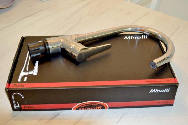 Baterija za sudoperu sa tri cevi Minotti Prima