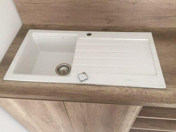 Bela granitna sudopera Gorenje KM 21