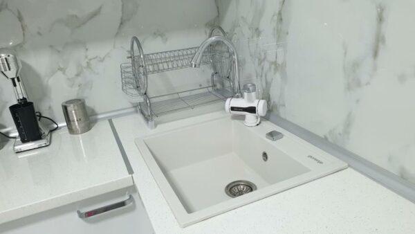 Granitna sudopera Gorenje KM 15 bela