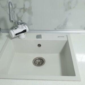 Bela granitna sudopera Gorenje KM 15
