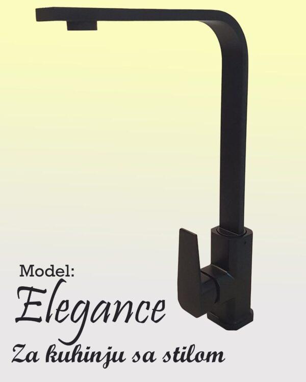 Baterija za sudoperu Elegance crna