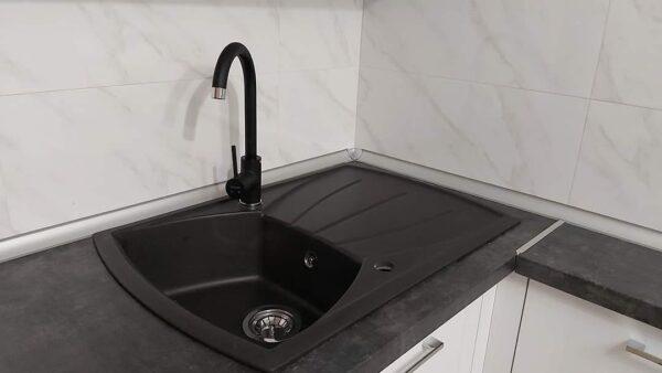 Granitna sudopera Gorenje KVE 451 karbon
