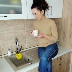 Granitna sudopera Gorenje KVE 76 10 bež