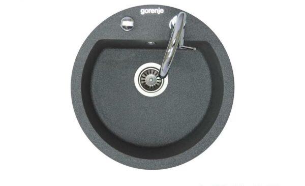 Gorenje granitna sudopera KM 12 granit crna antracit