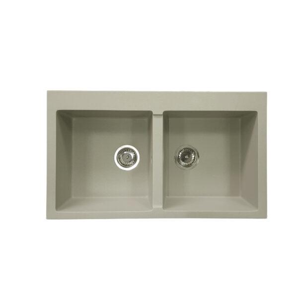 Bež granitna sudopera Gorenje 86 2B