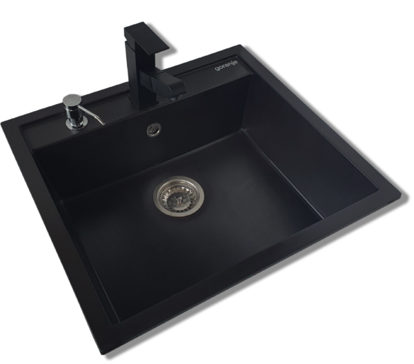 Granitna sudopera Gorenje KM 15 karbon