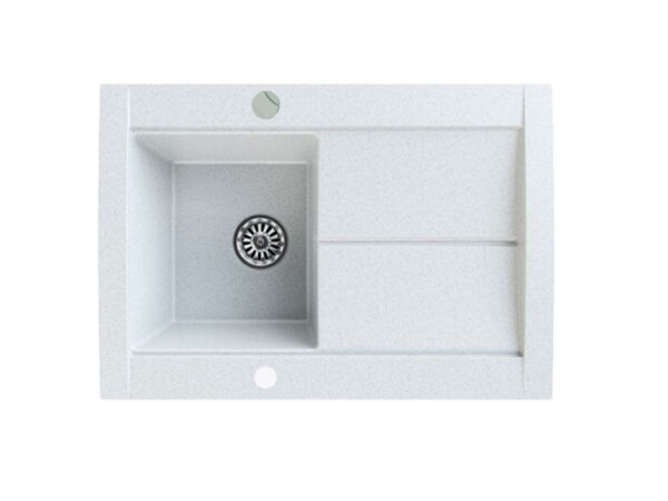 Gorenje KVE 76-10 bela granitna sudopera sa ocedjivačem